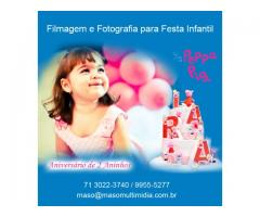 Fotografo festa infantil em Salvador