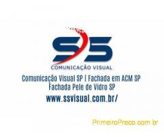 Comunicação Visual SP | Fachada em ACM SP | Fachada Pele de Vidro SP