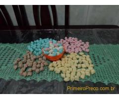 BALAS DE COCO NATURAL E ARTESANAL
